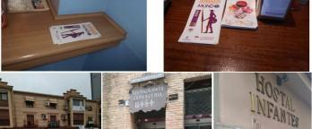 Nuestra participación en un Record Guinness – Distribución de flyer en comercios y alojamientos de Toledo